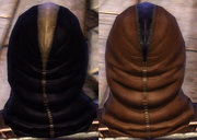 Leather Purple Dark Dye