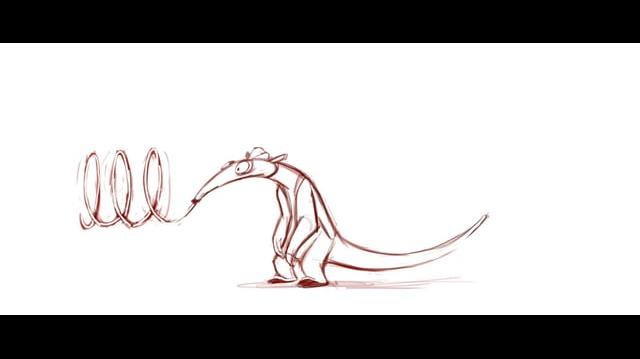 Charlie 2D animation test Rio 2
