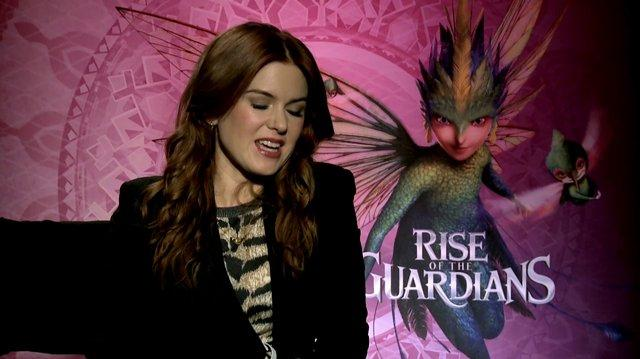 Rise of the Guardians Story for E! News