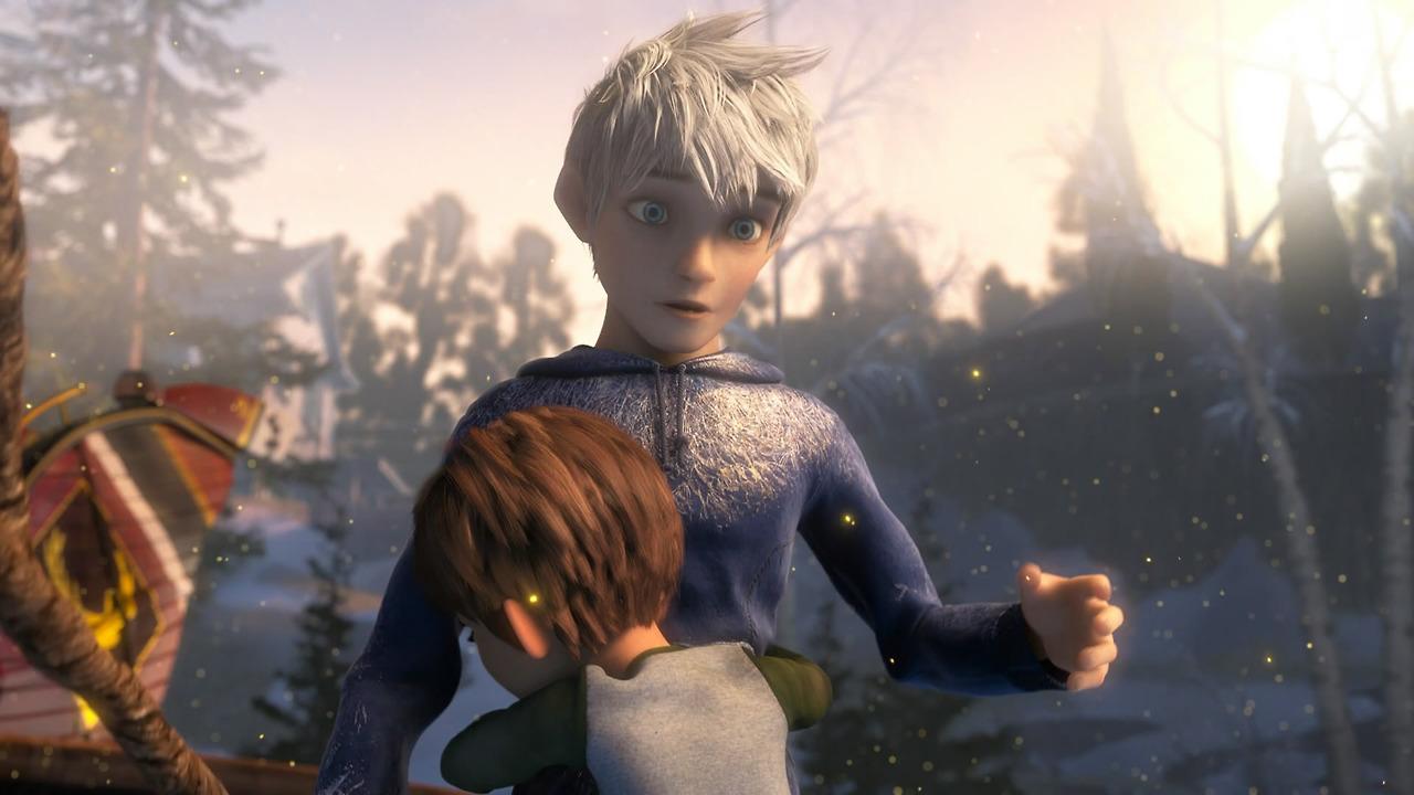 Image - Jack and jamie hug.2.jpg | Rise of the Guardians ...