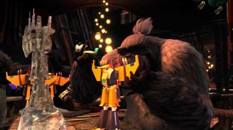 "RISE OF THE GUARDIANS - Official Film Clip - ""Santa's Toy Factory"""