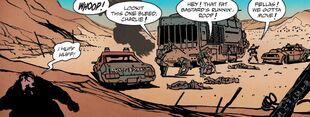 Roop and charlie nux and immortan joe comic book