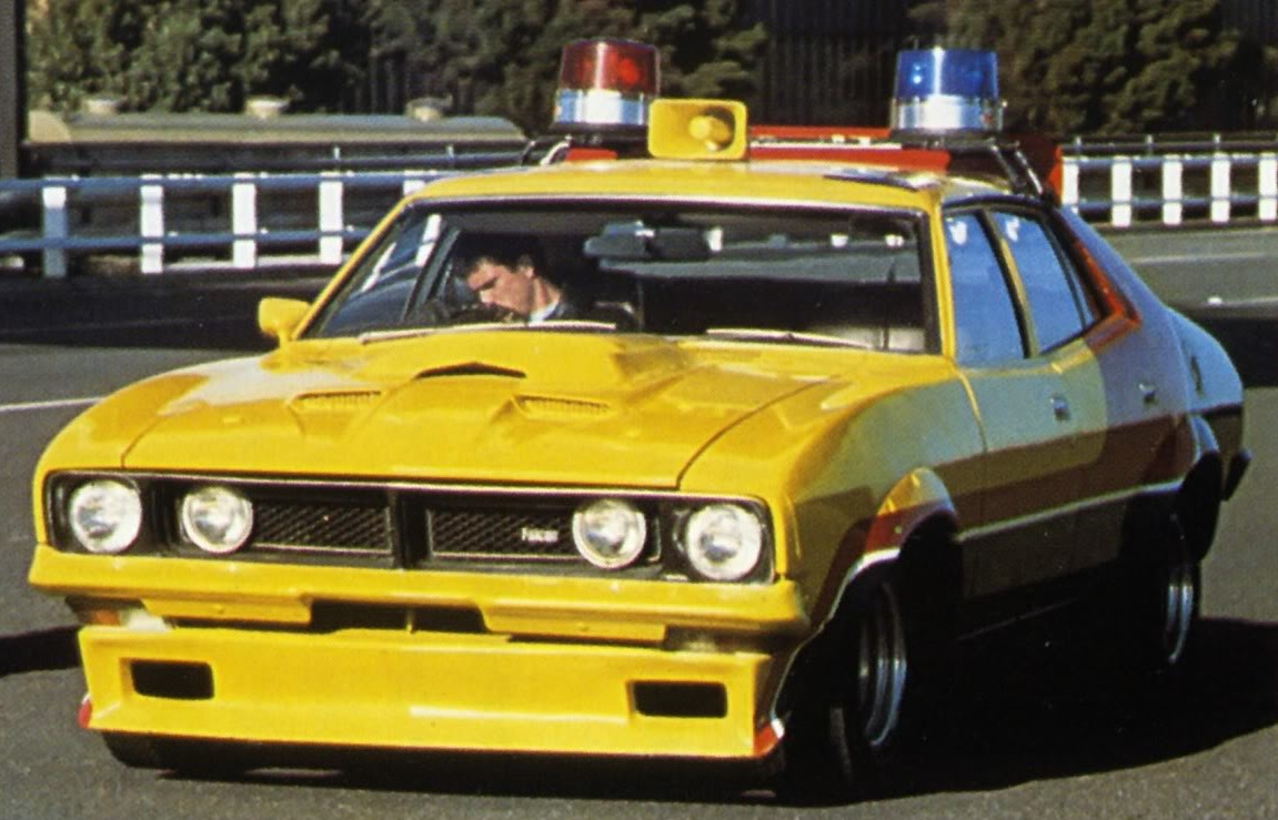 ford falcon xb sedan 1974 max 39 s yellow interceptor the mad max wiki fandom powered by wikia. Black Bedroom Furniture Sets. Home Design Ideas