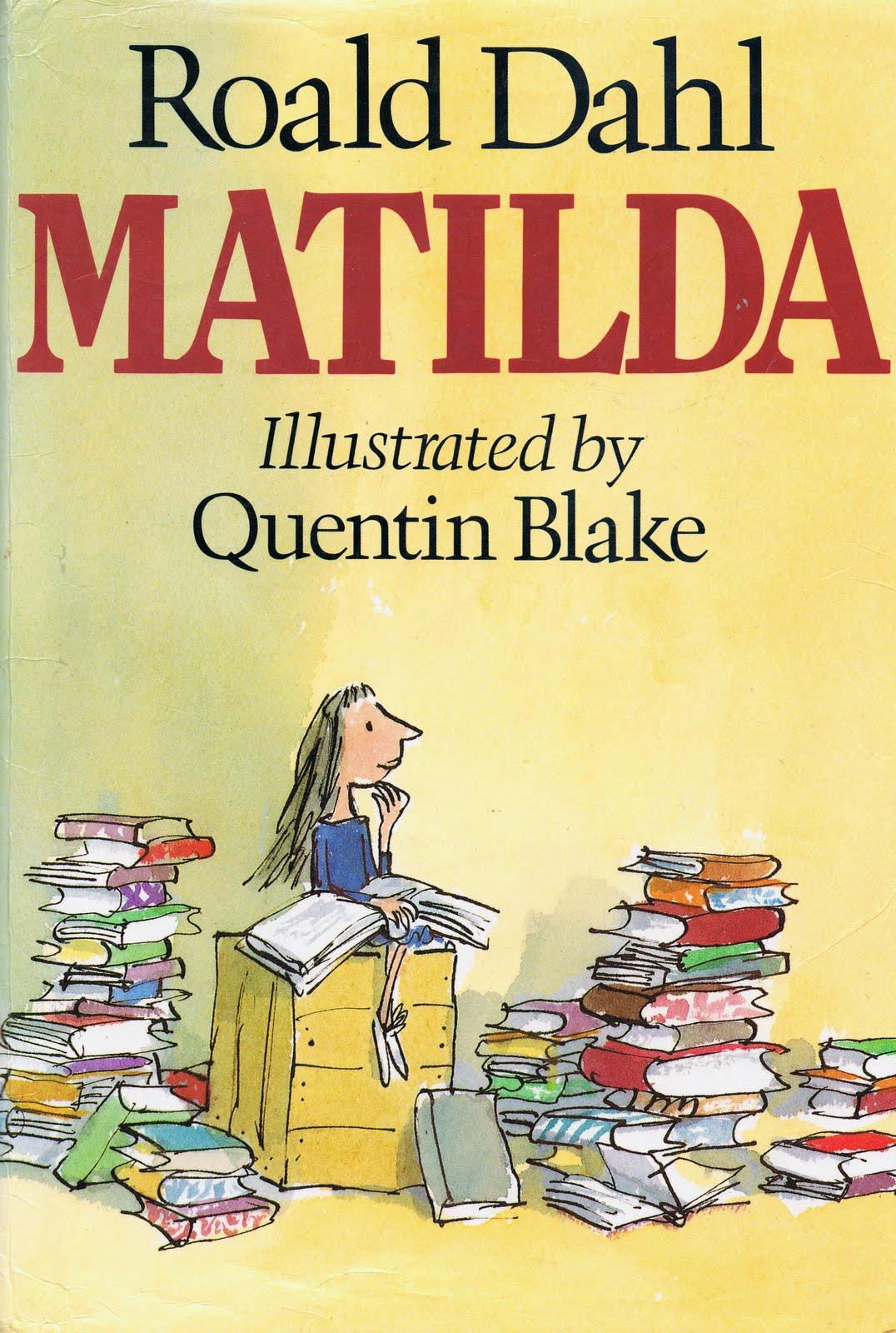 Resultado de imagen de Matilda de dahl
