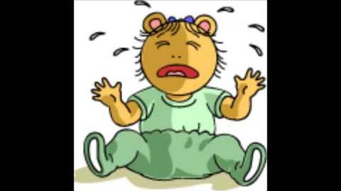 Arthur Baby Kate Crying sound effect