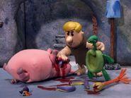Barney killing animals