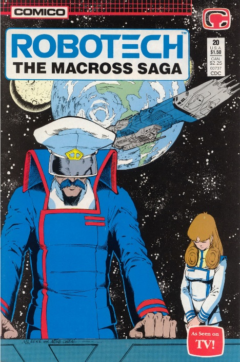 robotech  the macross saga 20  paradise lost