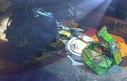 Gyrobot vs The Grimreaper