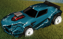 Unmasked decal titanium white rare