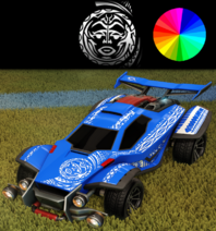Tribal decal paint rare