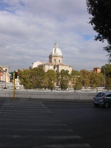 File:Giovanni-Batista dei Fiorentini -from other side of river.jpg