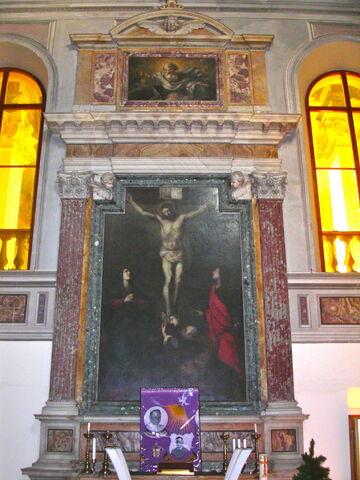 File:2011 Ambrogio, sacristy altar.jpg