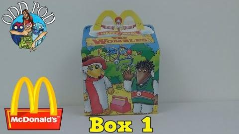 Happy Meal Toys Review - Box 1