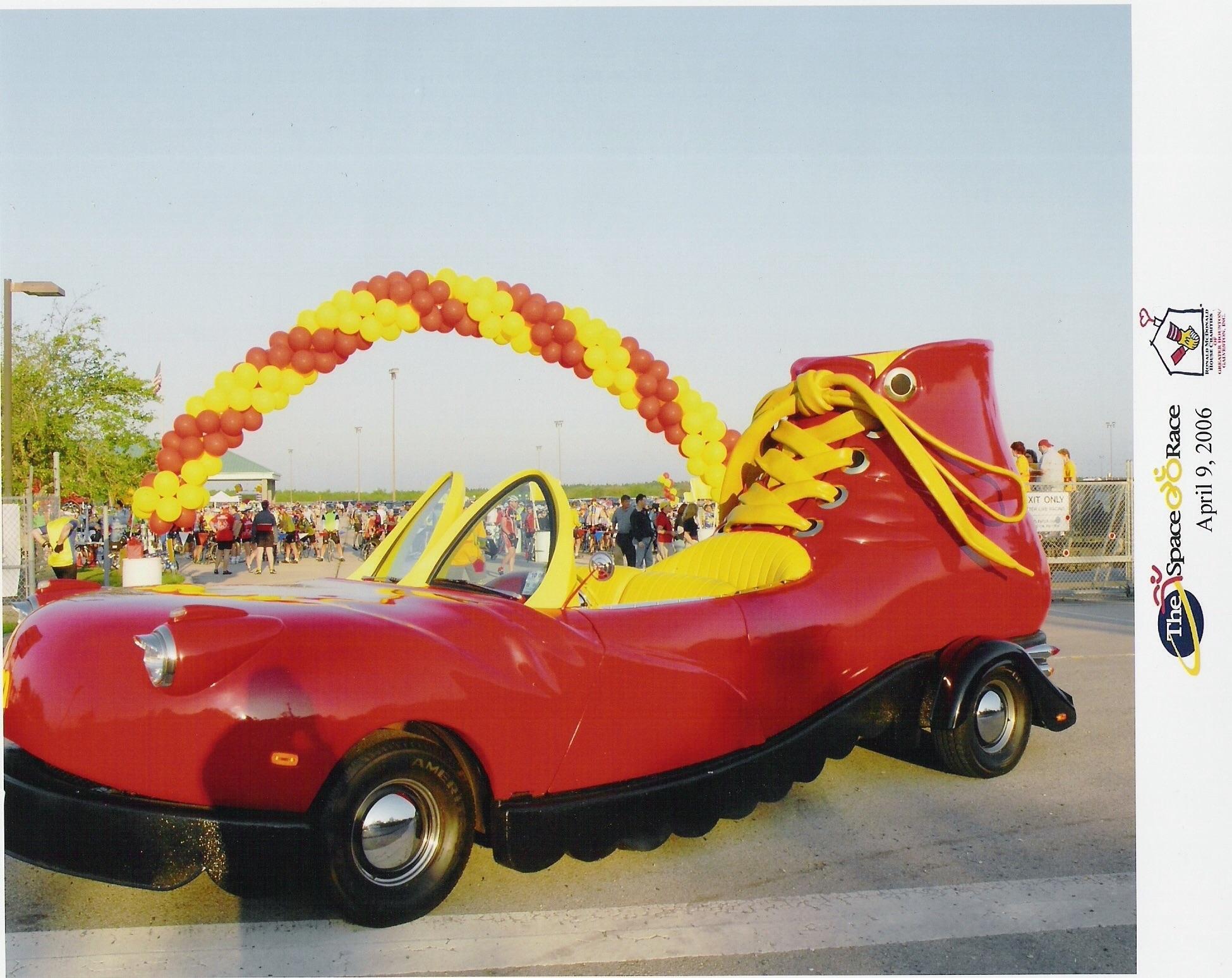 Car Shoe: Ronald McDonald's Car