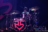 Ratliff on drums