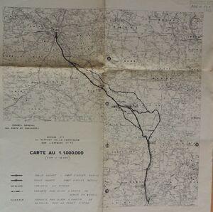 A6 1957 Etude du tracé.JPG