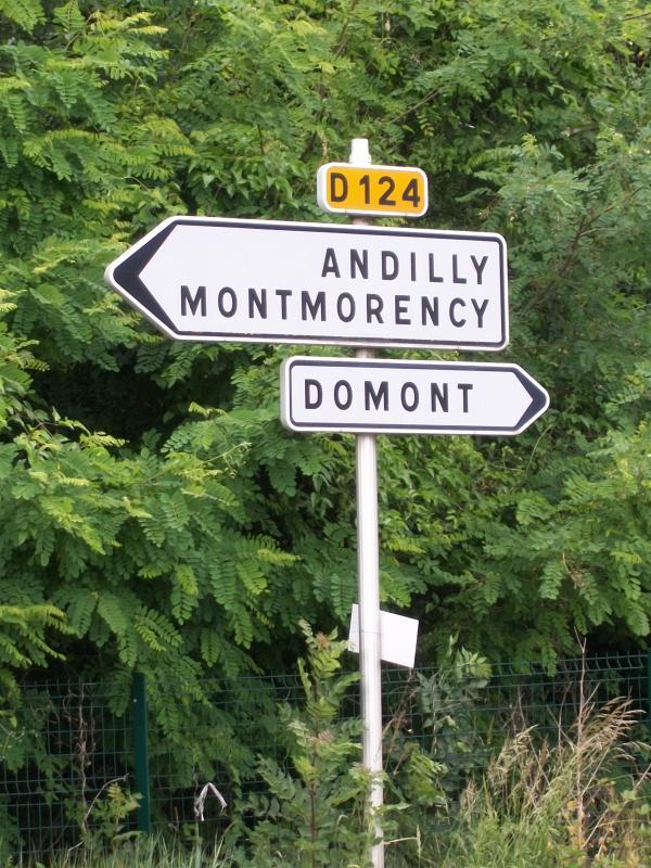 Route d partementale fran aise d124 95 wikisara for Domont ile de france