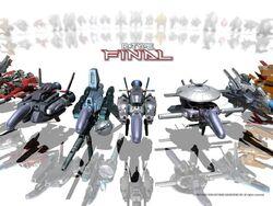 R-Type Final Ships
