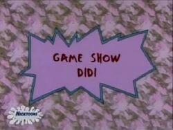 Rugrats - Game Show Didi