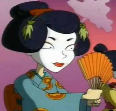 le barbare et la geisha film