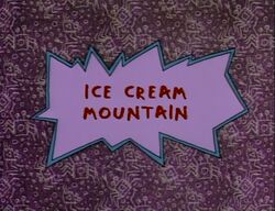 Rugrats - Ice Cream Mountain