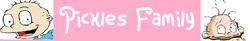 Pickles Family Banner