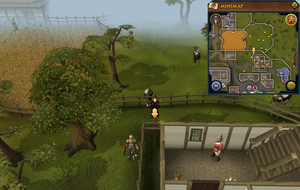 Scan clue East Ardougne outside Servants' Guild