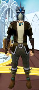 Full slayer helmet equipped