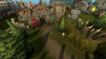 Goblin Village entrance