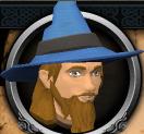 Wizard Distentor (christmas) chathead