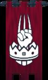 Burthorpe standard banner