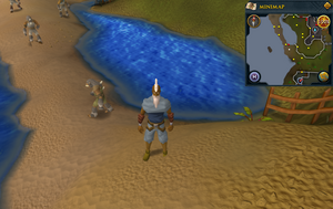 Compass clue Falador south-west of Crafting Guild