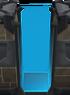 Tall blue door