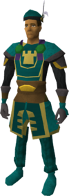War-chief clothing set equipped