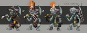 Cave goblin concept art