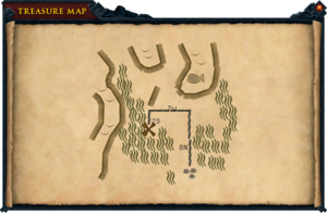 Map clue Haunted Mine