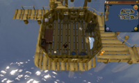 Cryptic clue Fishing Platform