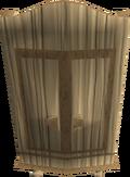 Oak armour case detail