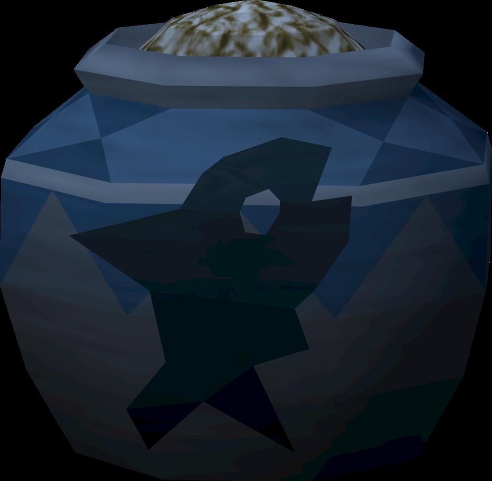 Strong fishing urn (full) detail
