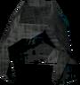 Ghostly hood detail