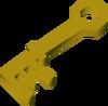 Chest key (Hazeel Cult) detail