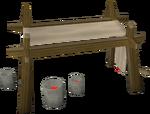 Banner easel built