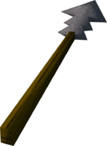 Harpoon detail