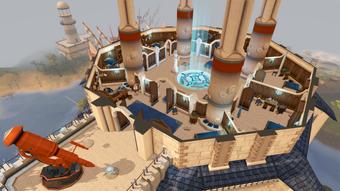 Wizards' Tower second floor