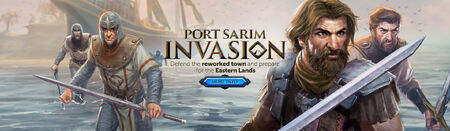 Port Sarim Invasion head banner
