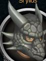 Steel dragon mask chathead