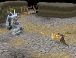 Ice troll king fight