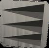 Log-splitting scrimshaw detail