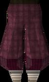 Red elegant legs detail