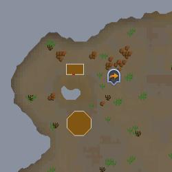 Bedabin Camp map